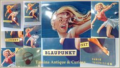 Tom's Radio World TOMANIA BLAUPUNKT RADIO Germany, Antiques, World, Movies, Movie Posters, Antiquities, Antique, Films, Film Poster