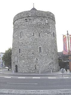 Waterford, Ireland--Reginald's Tower is a circular defence tower, set in Waterford City's historic Viking Triangle. It was built at the beginning of the 13th century.