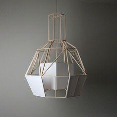 Geometric lamp /Daniel Hulsbergen