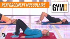 Cours gym : renfort musculaire 3 : Taille & fessiers