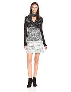 MINKPINK Women's Spectrum Ombre Sweater Dress - http://www.darrenblogs.com/2016/11/minkpink-womens-spectrum-ombre-sweater-dress/