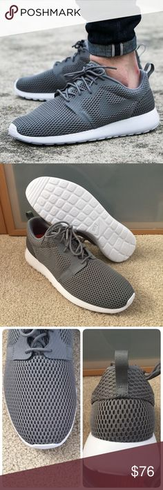 8e33a2234c829 💥New💥 NIKE men s Roshe One Hyp BR ~ sz 12 brand new no lid size 12 cool  grey white comes from smoke free home authentic guaranteed Nike Shoes  Athletic ...