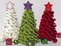 Christmas tree crochet pattern. Something to make for Christmas this year...