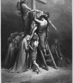 UnCatolico-Biblia-217 El cuerpo de Jesús es removido de la cruz (217)