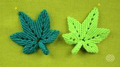 How to make Macrame leaf. Looks like a hemp leafs. Hemp Jewelry, Hemp Bracelets, Old Jewelry, Macrame Jewelry, Hemp Bracelet Patterns, Crystal Jewelry, Hemp Crafts, Hemp Leaf, Micro Macramé