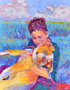 Custom portrait impressionist style from Poland by by TanabeStudio