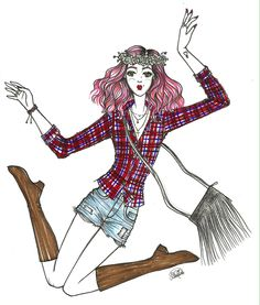 #illustration #fashionillustration #fashion #croqui