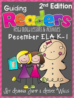 Guiding Readers: December SET TWO NO PREP ELA Unit for K-1 ~ Four Weeks (20 days) of Reading, Phonics, Comprehension, Word Work and More!