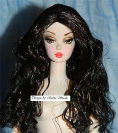 Fiorella Silkstone Barbie 2014~Re-Root, Enhanced~NUDE #mattel #Dolls