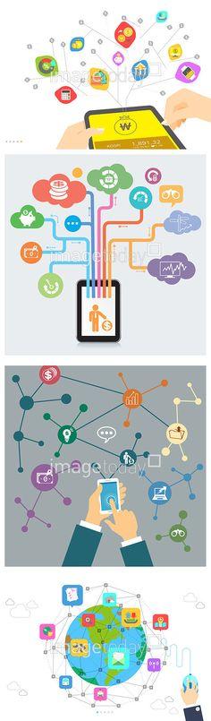 경제 금융 네트워크 모바일 무선통신 스마트폰 신체 아이콘 엘리먼트 연결 일러스트 제스처 증권 컨셉 컬러풀 클라우드 통신 플랫디자인 아이콘 디지털 IT finance economy network mobile wifi smartphone body icon element connect illust illustration gesture concept colorful cloud faltdesign digital #이미지투데이 #imagetoday #클립아트코리아 #clipartkorea #통로이미지 #tongroimages
