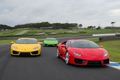 The Lamborghini Huracan LP580-2 performs on the Phillip Island track. Pictures / Joel Strickland