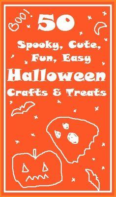 50 Halloween Crafts & Ideas