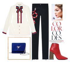 Sin título #55 by thekeystylist on Polyvore featuring moda, Gucci, Emilio Pucci and Giuseppe Zanotti