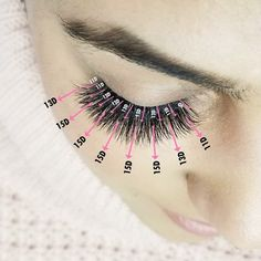 how-to-apply-eye-lash-extensions - More Beautiful Me 1 Longer Eyelashes, Mink Eyelashes, Long Lashes, Whispy Lashes, Fake Lashes, Eyelash Studio, Lash Perfect, Eyelash Extensions Styles, Eyelash Sets