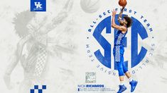 They picked Nick too. All-SEC First Team  All-Defensive Team Uk Basketball, Uk Football, Kentucky Basketball, Basketball Players, University Of Kentucky, Kentucky Wildcats, Go Big Blue, All Team, Twitter Sign Up