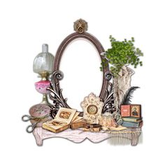 tubes vintage 2 ❤ liked on Polyvore featuring frames, fillers, backgrounds, vintage, victorian, borders и picture frame