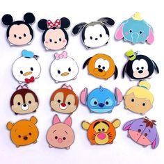 Your WDW Store - Disney Mystery Pins - Disney Tsum Tsum - Complete 16 Pins