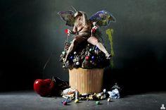 NIRVANA #dorothybhawl #art #photography #magic #pig #mask #milk #beauty #nude #beast #nwo