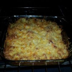 Cracker Barrel's Hashbrown Casserole - Copycat Recipe. Tried this last night and it was quite tasty. I forgot the sour cream but I don't think it seemed to matter. It was Gooood anyway.