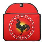 Year of the Rooster 1993 Sleeves For MacBook Pro