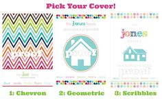 """Personalized Household Binder """"Everything"""" Printable Kit"""