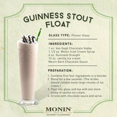 Stout float!