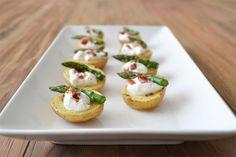Baked Potato Bites: Una receta saludable aperitivo y una receta fácil aperitivo también!