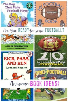 This blog post is full of great ideas for football in the elementary classroom. Use them in the fall for football season or during the Super Bowl. You'll find great football books for kids, ideas and activities for various subjects, and more. You'll find great ideas for the Kindergarten, 1st, 2nd, 3rd, 4th, 5th, and 6th grade classroom or your home school students. Super Bowl Activities, Activities For Kids, Kindergarten Activities, Classroom Activities, Classroom Ideas, 5th Grade Classroom, Halloween Math, Special Education Teacher, Kids Education