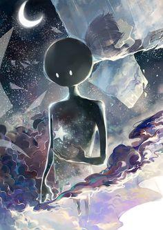 Pixiv illustrator: sishenfan  Title: Mirror Night