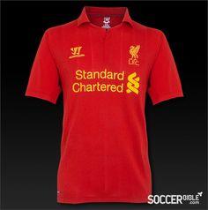 Liverpool Home Replica 2012-13