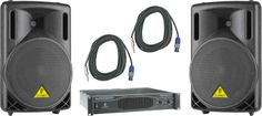 Behringer B212xl / Ep2000 Speaker & Amp Package