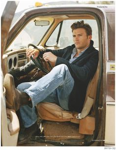 Scott Eastwood Stars in BOSS Photo Shoot for British GQ November 2014 Issue image Scott Eastwood Photo Shoot British GQ.. OMG he is hot! BETTER looking than his daddy o!
