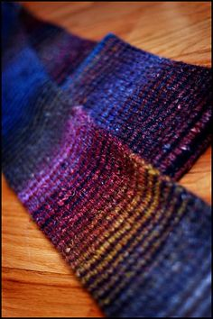 Noro Striped Scarf by Jared Flood