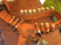 Potion belt, steampunk or renaissance faire