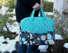 (9) Name: 'Sewing : Weekender Bag Overnight Travel Bag