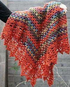 Tina's handicraft : shawl