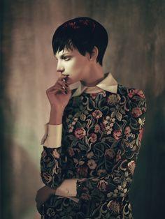 Neo Romantik | Jessica Pitti By Stefan Milev For Madame Germany November 2013.