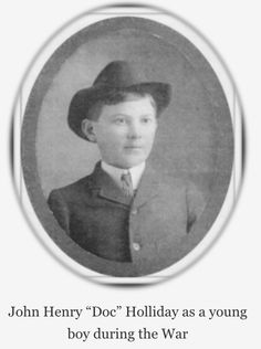 A young Doc Holliday during the War Between the States in his native Georgia Wyatt Earp Tombstone, Old West Outlaws, Native American Baby, Old West Photos, Young John, Cute Piglets, Doc Holliday, Real Cowboys, Mountain Man