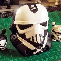 Custom Storm Trooper Helmets for