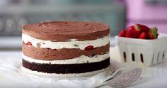 Chocolate Cheesecake, Piece Of Cakes, Sweet And Salty, Something Sweet, Cream Cake, Desert Recipes, Yummy Cakes, No Bake Cake, Amazing Cakes