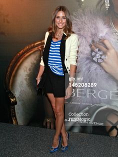 Olivia Palermo attends the Faberge New York Flagship…