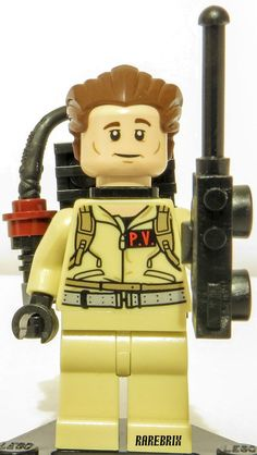 Lego Ghostbusters Peter Venkman Minifigure 21108 NEW RARE Ideas Ghost Busters #LEGO