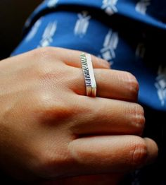 Brushed Metal Mountain II Ring   Jewelry Rings   Elisha Marie Jewelry   Scoutmob Shoppe   Product Detail