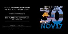 """EVENTO · EVENT · """"THE BEST IS YET TO COME"""" BY NOK ¿Te lo vas a perder? 