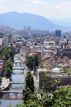 The capital of my beloved country. Sarajevo, Bosnia