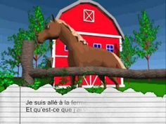 ferme - YouTube French Kids, French Class, French Teacher, Teaching French, Vocabulary Instruction, French Songs, Farm Activities, Rap Songs, World Languages