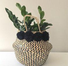 Home & Garden European Style Flower Hanging Basket New Arrival Natural Wicker Flower Basket Pot Planter Rattan Vase Basket Home Garden Wall Ha Relieving Rheumatism And Cold Home Decor
