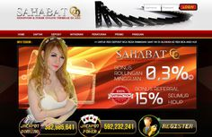 Screenshot halaman depan situs SahabatQQ.casino Agen Domino 99 dan Poker Online Terbesar di Asia yaitu situs judi online yang sedia games domino99, dan poker online yang terbaik dan terpercaya di wilayah Asia, jika suka silahkan kalian daftar disini