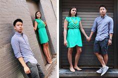 Cute engaged couple in Boston | Engagement photoshoot | Boston Wedding Photographers | Massachusetts, MA | Anna Rozenblat photography | www.AnnasWeddings.com Massachusetts Ma, Engagement Couple, Engagement Pictures, Photo Sessions, Cloths, Photographers, Boston, Photographers Vest, Engagement Pics