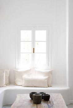 white & cozy